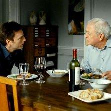 Mr. Morgan's Last Love: Michael Caine e Justin Kirk in una scena
