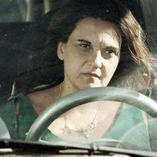 Via Castellana Bandiera: la regista e interprete del film Emma Dante in una scena del film