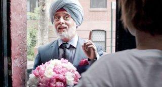 Vijay and I: Moritz Bleibtreu in una scena nei panni di Vijay Singh