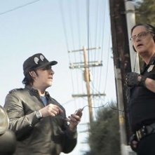 Wrong Cops: la rockstar Marilyn Manson in una scena con Mark Burnham