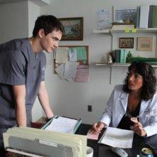 Gerontophilia: Pier Gabriel Lajoie in una scena del film con Marie-Hélène Thibault