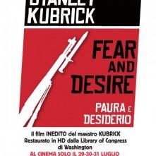 La locandina di Fear and Desire dedicata alla riedizione del film