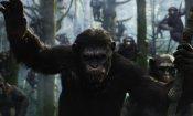 Tv, i film della settimana: la Apes revolution arriva su Sky Cinema con gli amici Pio e Amedeo