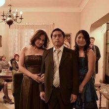 El mudo: Fernando Bacilio in una foto di gruppo promozionale