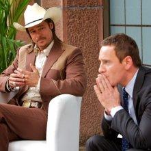 The Counselor - Il procuratore: Brad Pitt e Michael Fassbender in una scena del film