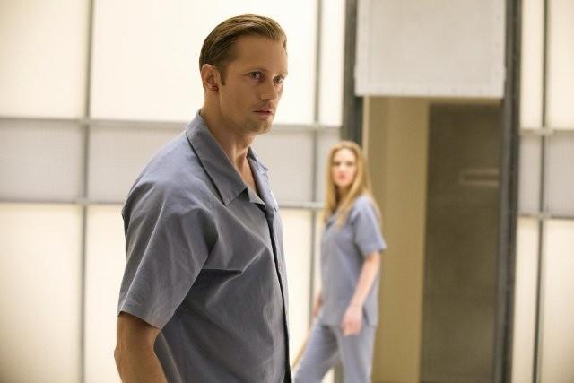 True Blood Alexander Skarsgard E Kristin Bauer Nell Episodio L Amara Verita 281811