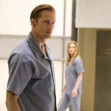 True Blood: Alexander Skarsgård e Kristin Bauer nell'episodio L'amara verità