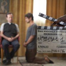Una piccola impresa meridionale: Riccardo Scamarcio e Rocco Papaleo sul set