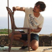 Una piccola impresa meridionale: Riccardo Scamarcio in una scena del film