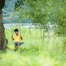 A Time in Quchi: Bao sull'altalena in una scena del film