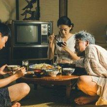 Backwater: Ken Mitsuishi in una scena del film con Yuko Tanaka