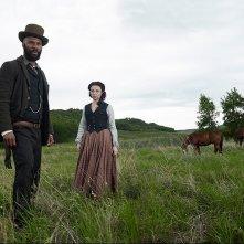 Hell on Wheels: Robin McLeavy e Common in una foto promozionale della stagione 3