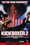 Kickboxer 2 - Vendetta per un angelo: la locandina del film