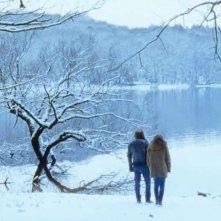 Tonnerre: Solène Rigot  e Vincent Macaigne passeggiano sulla neve in una scena