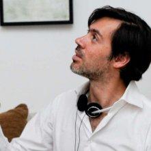 Une autre vie: il regista del film Emmanuel Mouret sul set