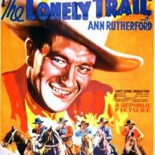 Il sentiero solitario: la locandina del film