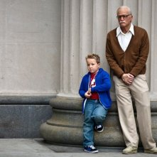 Nonno cattivo: Johnny Knoxville e Jackson Nicoll in una scena