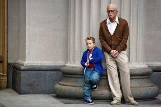 Nonno cattivo: Johnny Knoxville e Jackson Nicoll in una scena