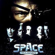 Space Marines - Marines dello spazio: la locandina del film