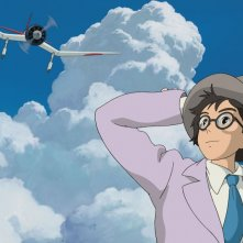 The Wind Rises: una scena del film
