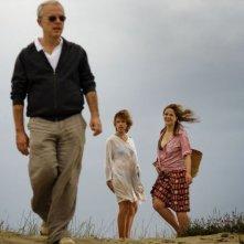 Anni felici: Daniele Luchetti sul set con Micaela Ramazzotti e Martina Gedeck