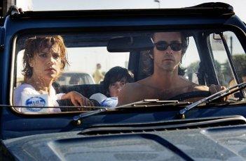 Anni felici: Kim Rossi Stuart e Micaela Ramazzotti in una momento del film