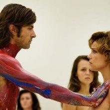 Anni felici: Kim Rossi Stuart e Micaela Ramazzotti in una scena