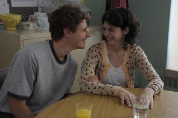Gabrielle: Gabrielle Marion-Rivard in una scena del film insieme a Alexandre Landry