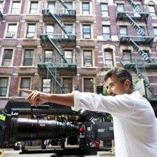Tutta colpa di Freud: il regista Paolo Genovese sul set a New York
