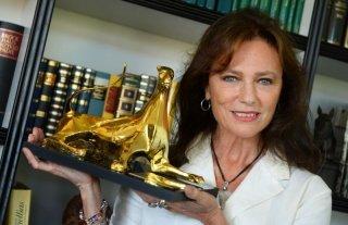 Jacqueline Bisset ritira il Lifetime Achievement Award a Locarno 2013