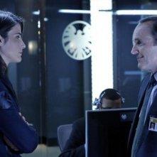 Agents of S.H.I.E.L.D.: Cobie Smulders e  Clark Gregg nel pilot della serie