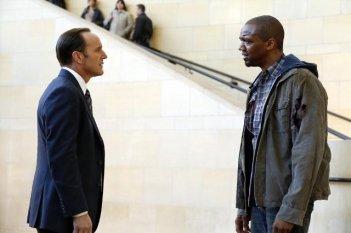 Agents of S.H.I.E.L.D.: J. August Richards e  Clark Gregg nel pilot della serie