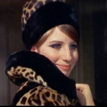 Barbra Streisand in una scena del film Funny Girl