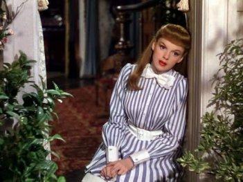 Judy Garland in una scena del film Incontriamoci a Saint Louis