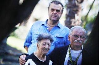 Pippo Delbono presenta 'Sangue' a Locarno 2013 accanto a Giovanni Senzani e Bobò