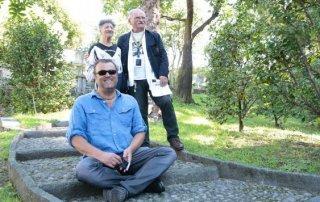 Pippo Delbono presenta 'Sangue' a Locarno 2013 insieme a Giovanni Senzani e Bobò