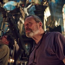The Zero Theorem: il regista Terry Gilliam sul set del film