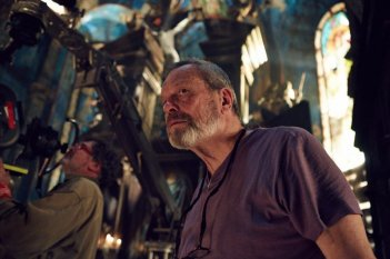 The Zero Theorem: il regista Terry Gilliam sul set del film