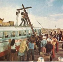 Una scena del film Jesus Christ Superstar