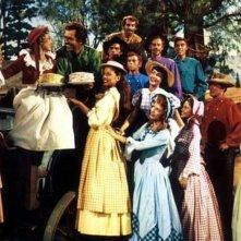 Una scena del film Sette spose per sette fratelli