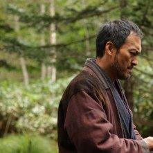 Unforgiven: Ken Watanabe in azione in una scena del film