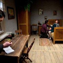 Walesa. Man of Hope: Robert Wieckiewicz e Agnieszka Grochowska in una scena