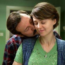 Walesa. Man of Hope: Robert Wieckiewicz insieme a Agnieszka Grochowska sono Lech Walesa e signora