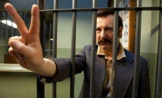 Walesa. Man of Hope: Robert Wieckiewicz nei panni di Lech Walesa in una foto promozionale