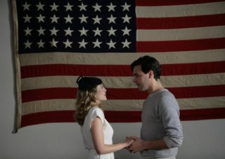 Giovani Ribelli - Kill Your Darlings: Elizabeth Olsen e Jack Huston in una scena