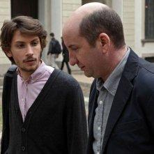 L'Intrepido: Gabriele Rendina in una scena del film con Antonio Albanese