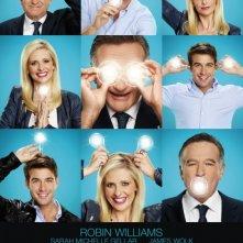 The Crazy Ones: uno dei poster della serie