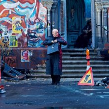 The Zero Theorem: Christoph Waltz in una scena