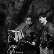 Unforgiven: il regista Lee Sang-il sul set