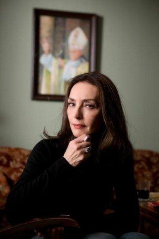 Walesa. Man of Hope: Maria Rosaria Omaggio in una foto promozionale